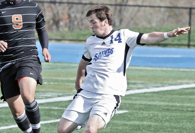 Plummer's Goal in Final Minute Gives Saints' 4-3 Road Win at Earlham