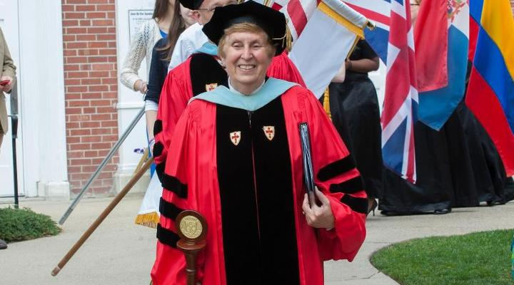 Longtime Eastern Nazarene College Athletic Director  Dr. Nancy Detwiler to Retire June 2015