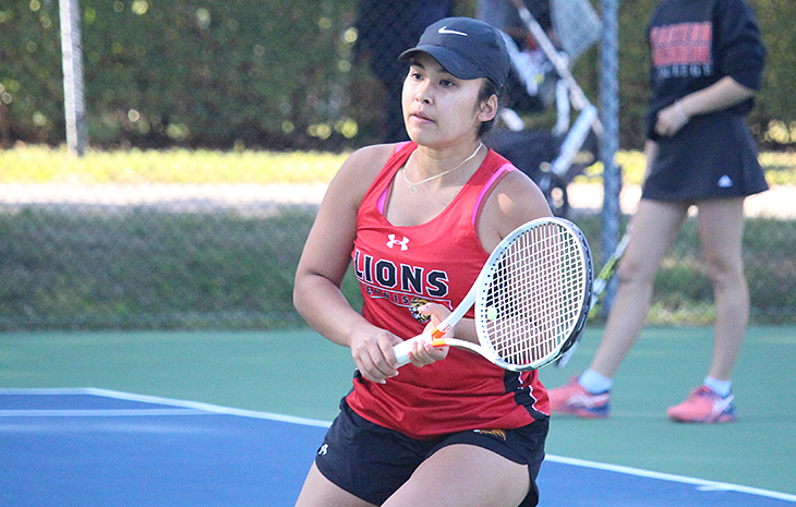 Women's Tennis Tripped Up by Wilkes, 5-4