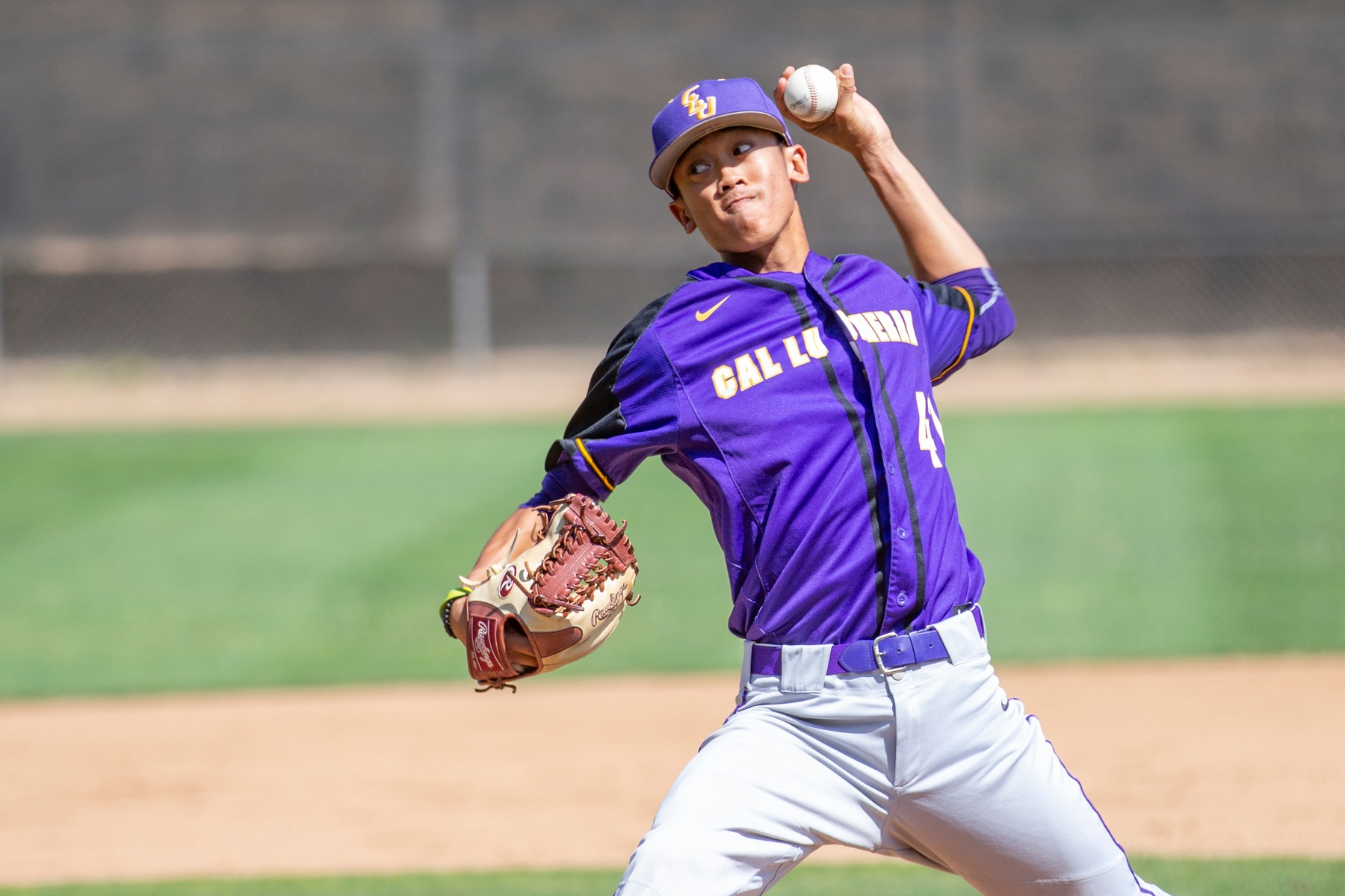 Fong Tosses Fourth Complete Game of the Year Against Whittier