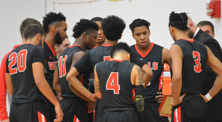 First-Place Wildcats Shoot Down Wells Men's Basketball