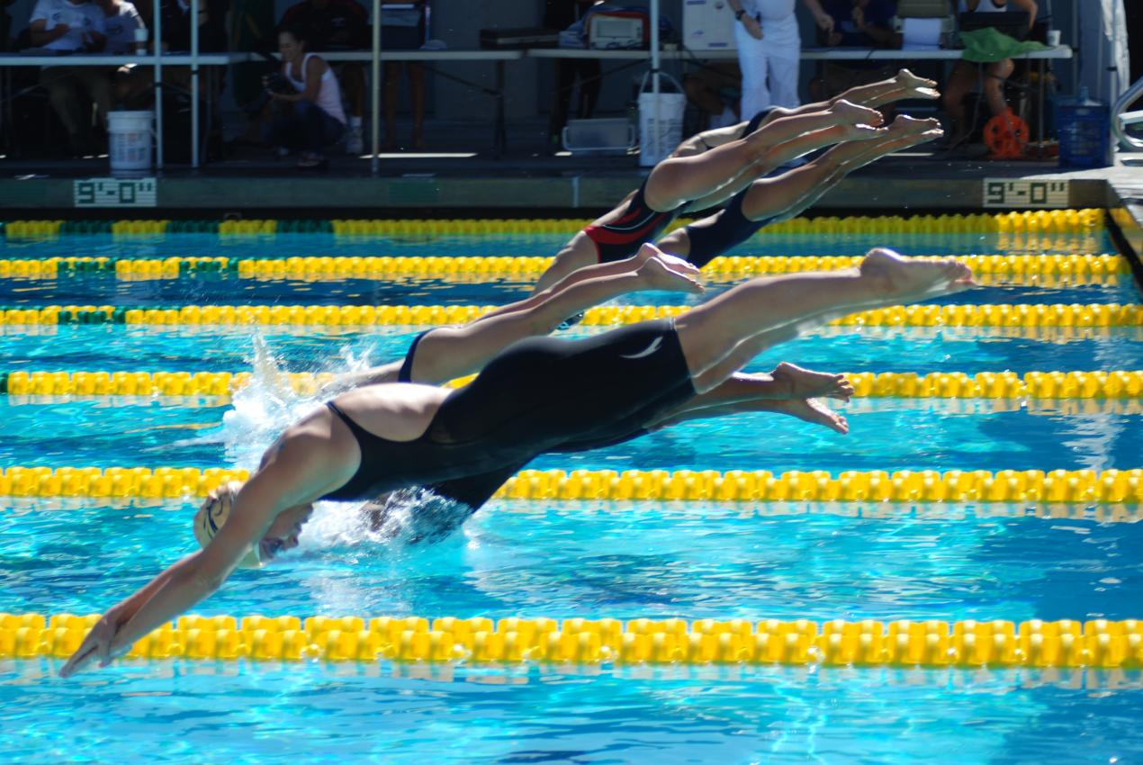 Youngerman Broke Records At Conference Swim Meet Cypress College Athletics