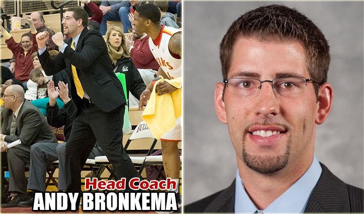 MEET THE COACH: Press Conference To Introduce New MBB Head Coach Andy Bronkema This Monday & Open To Public