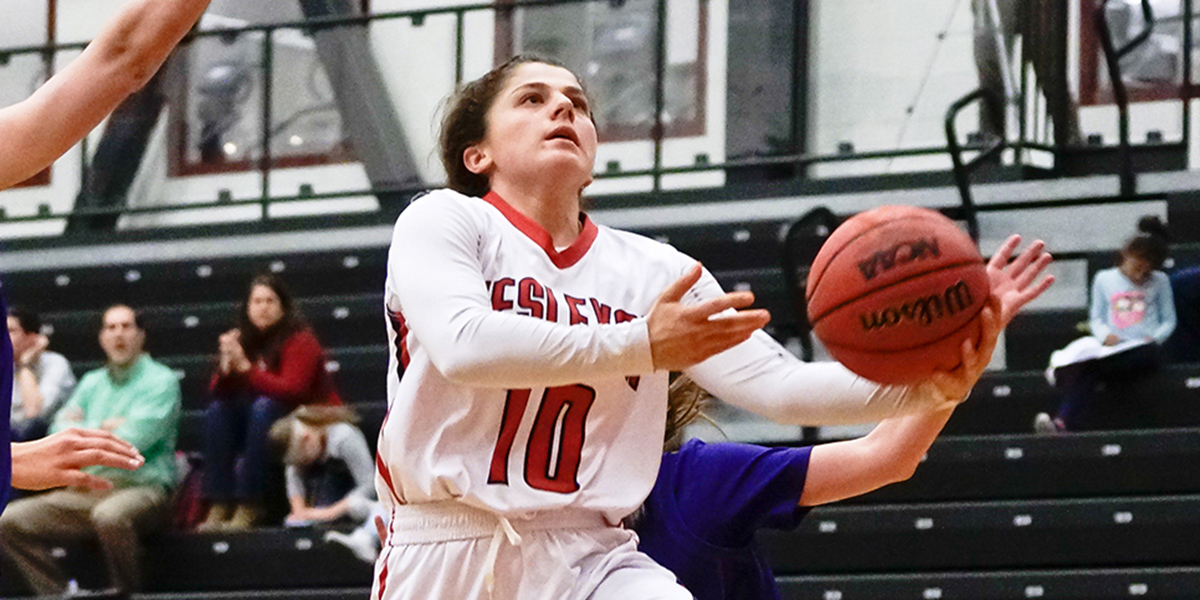 Women's Basketball Holds off Marywood, Wins 63-57