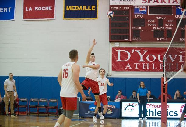 Men's Volleyball Drops Second Straight With Loss to Vassar