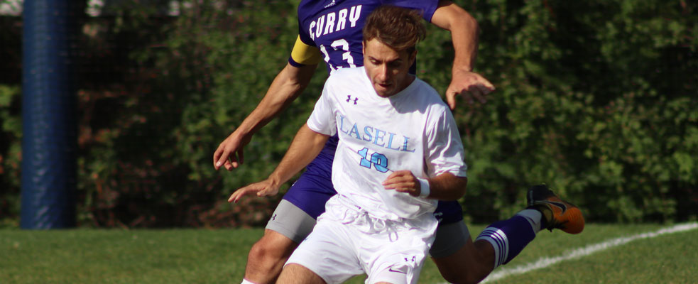 Set Plays Plague Lasers; Curry Downs Men's Soccer 6-1