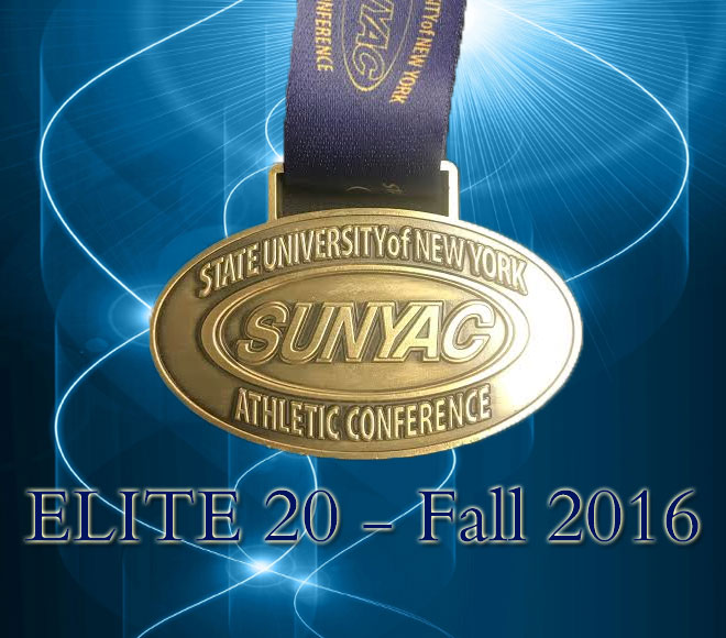 SUNYAC announces Elite 20 for fall sports