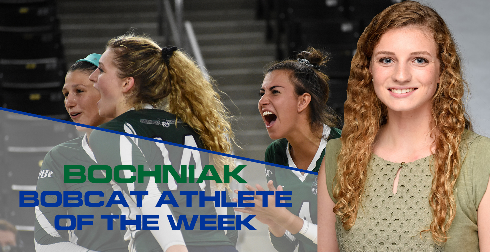 Libby Bochniak Earns Bobcat Athlete of the Week