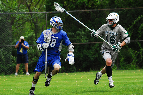 Defense Leads No. 1 Men's Lacrosse to First NCAA Win