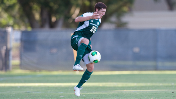 MEN'S SOCCER CONTROLS PLAY BUT DRAWS WITH PACIFIC 0-0 IN EXHIBITION