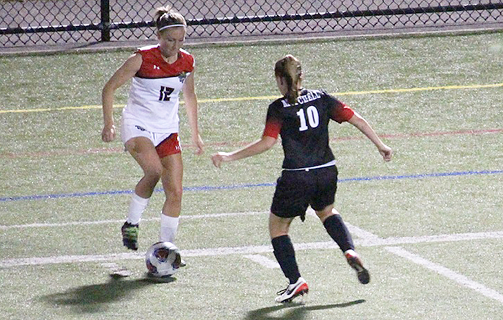 Women's Soccer Overpowers Mitchell Wednesday, 8-0