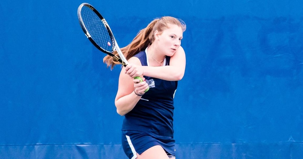 Trerotola Ties Singles Win Record in Women's Tennis Matchup Against SJC Long Island