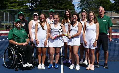 Women's tennis season comes to an end in Empire 8 Semifinals