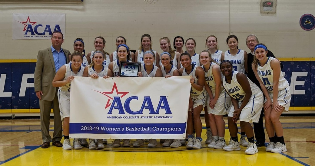 #2 Thomas More Defeats Valley Forge, 92-47, to Win ACAA Championship