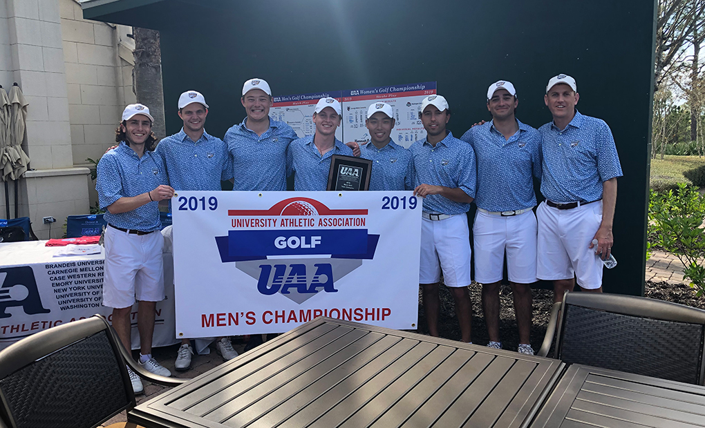 Emory Golf Wins Fourth Straight UAA Title