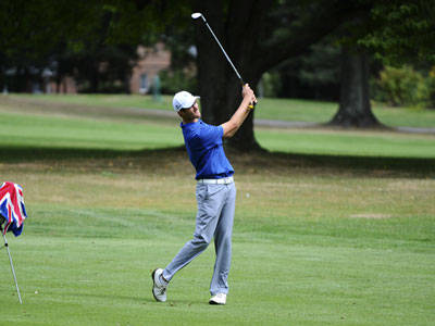 Men's Golf Tied for 14th After Round One of Wildcat Invitational