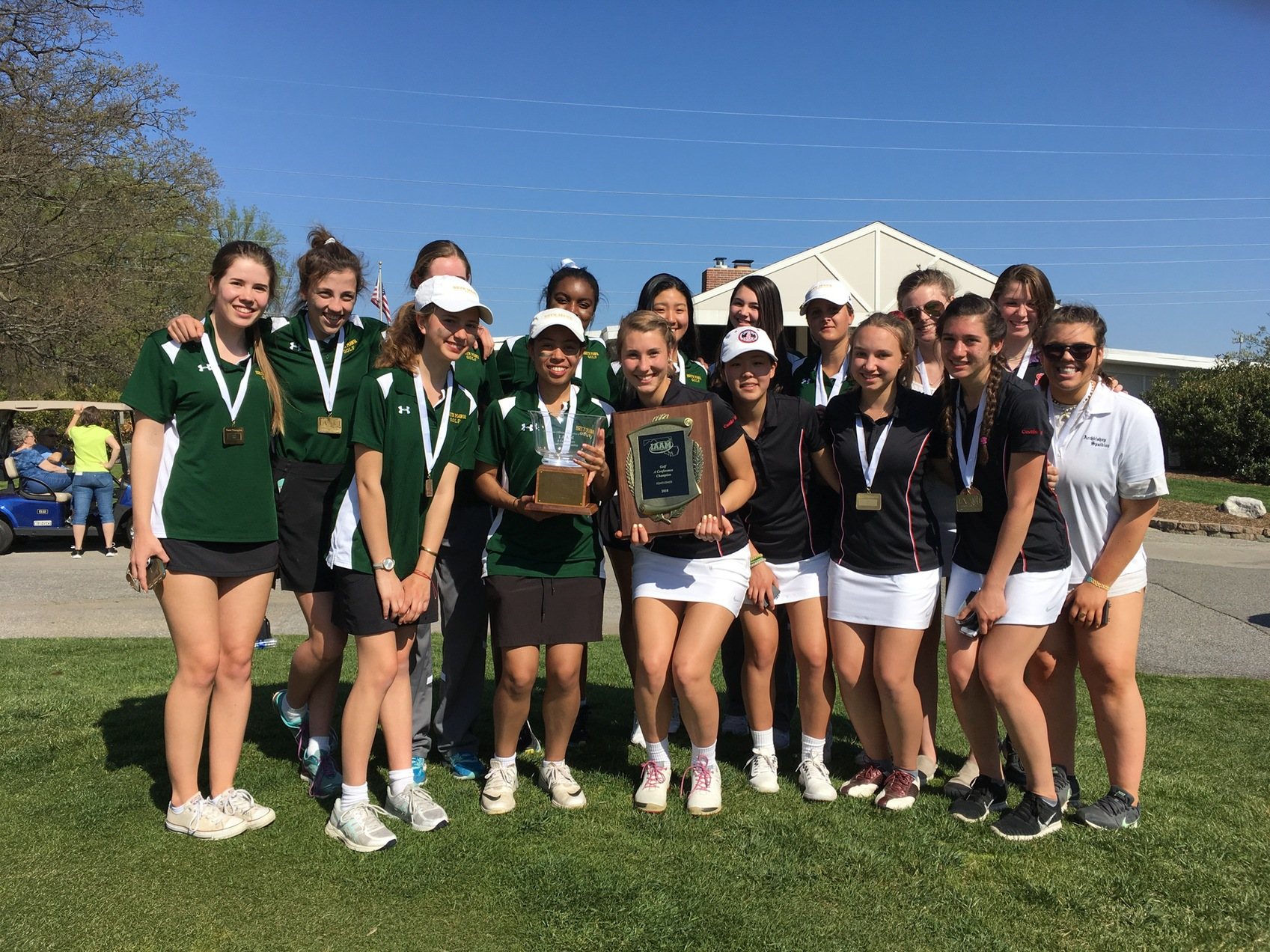 Archbishop Spalding and defending champ Bryn Mawr share A Conference golf crown