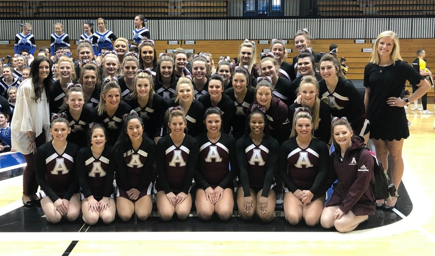 Cheer Takes Second at Laker Cheer Classic