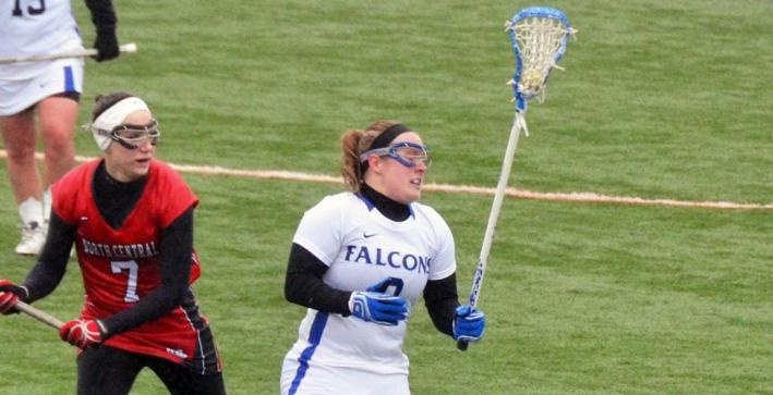 Women's Lacrosse holds on for win over Beloit