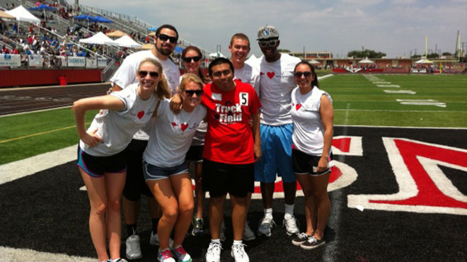 Austin College Student-Athletes Volunteer with Special Olympics