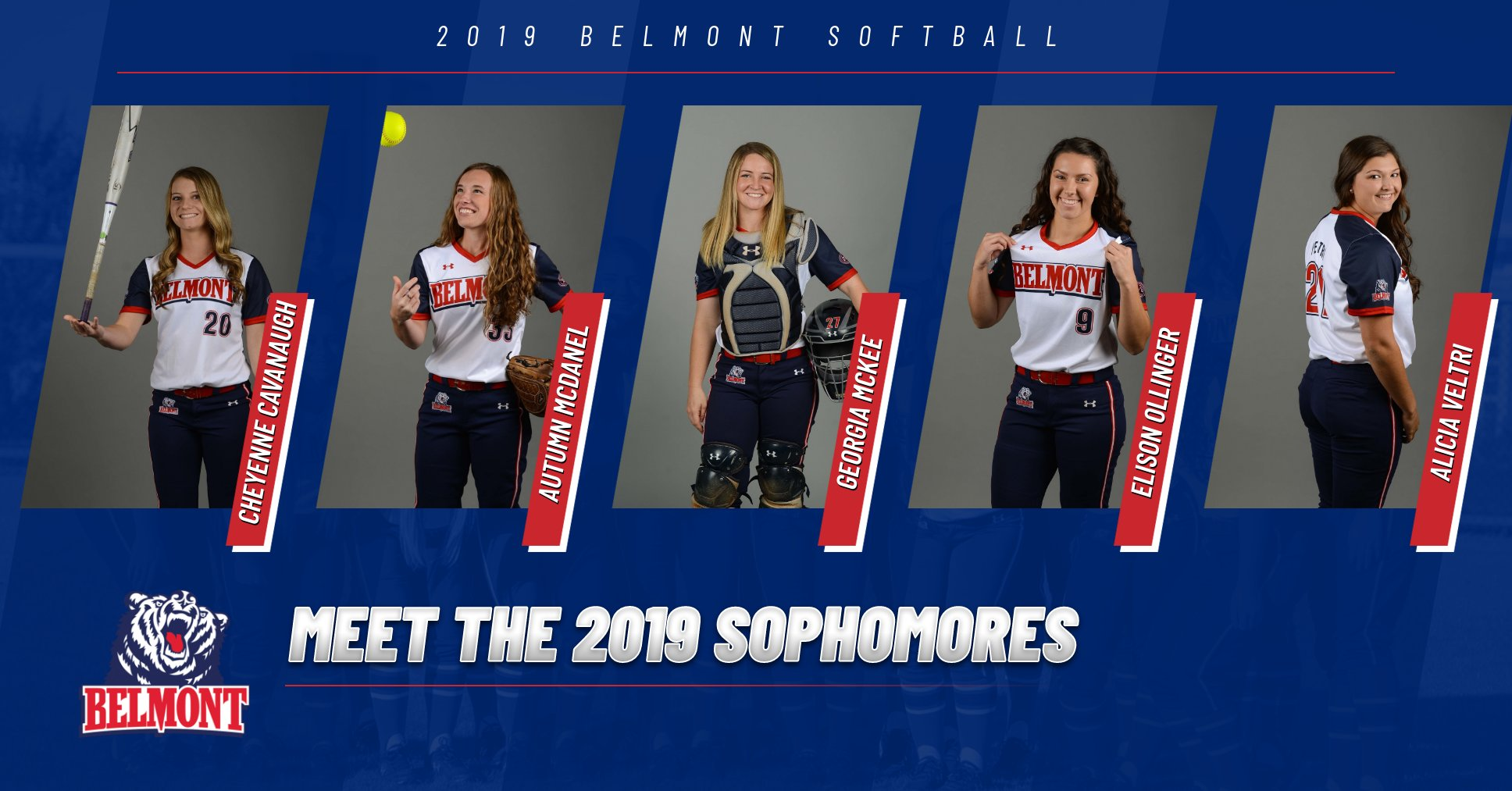 Meet the 2019 Softball Sophomores