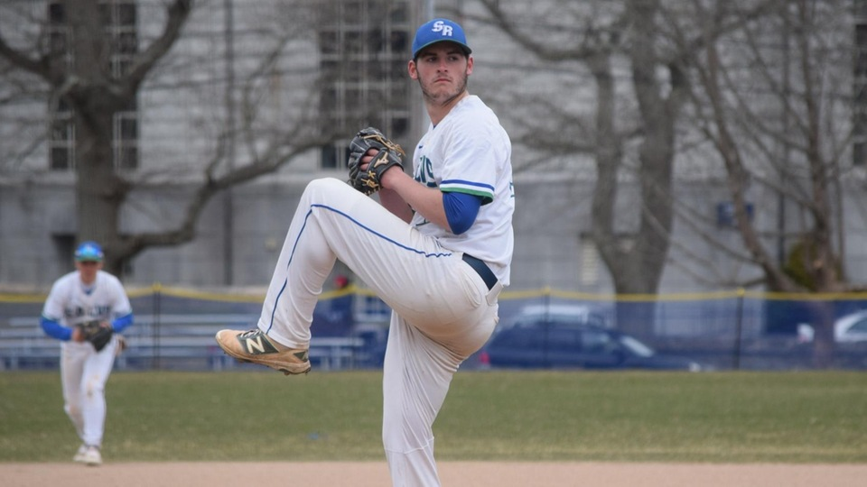 Seahawk starter Michael Mathews pitched one-run ball into the seventh inning on Friday. (Photo by Ed Habershaw)