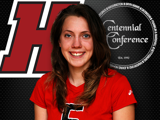Centennial recognizes Godbe as volleyball player of the week