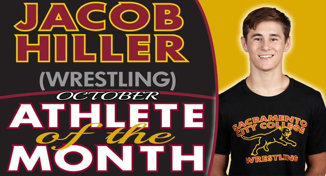 Jacob Hiller is selected as the SCC October Male Athlete of the Month