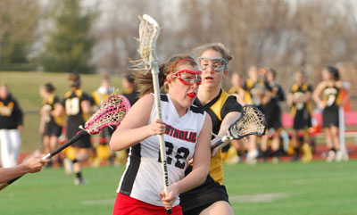 Catholic's Kate Robinson Named Women's Lacrosse All-American