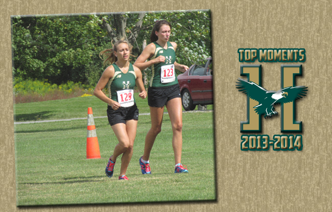 Top Moments 2013-2014: Women's Cross Country Takes First Ever Harrier Invitational