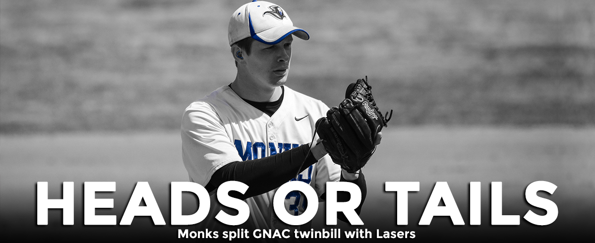 Monks Split GNAC Doubleheader with Lasers