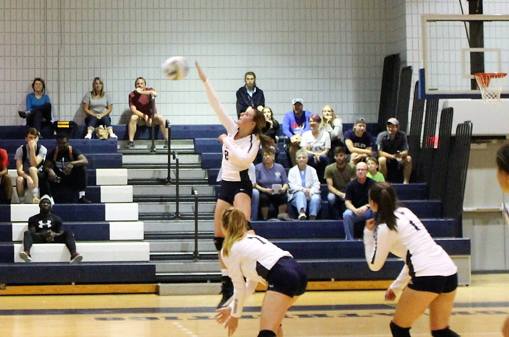 Flick has 16 Kills as New Kensington Downs WCCC, 3-0