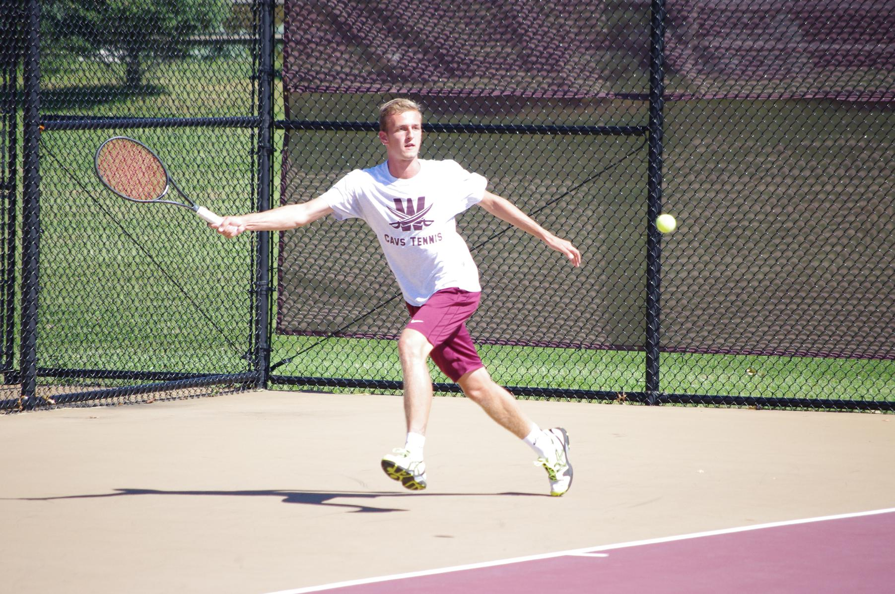 Men's Tennis Downed By Wayne State