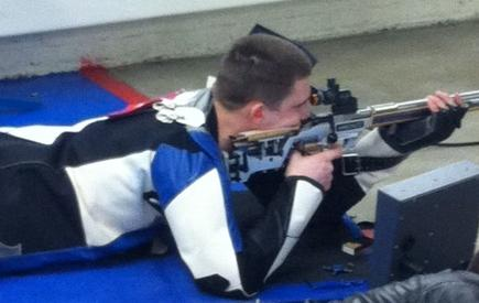 Paisker Ties Air Rifle Record in Win