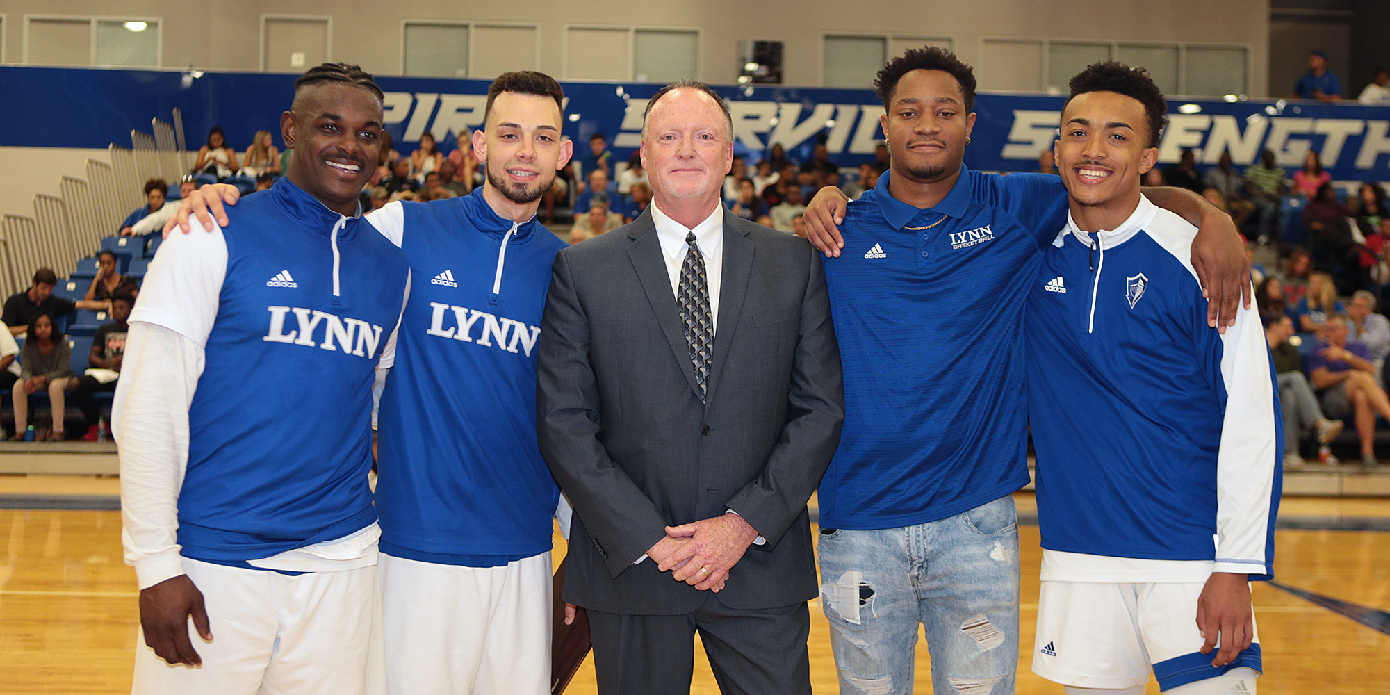 First-Place Barry Spoils Men's Basketball's Senior Night