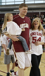 Awesome! Santa Clara's Bryant Named WCC Player of the Month for February