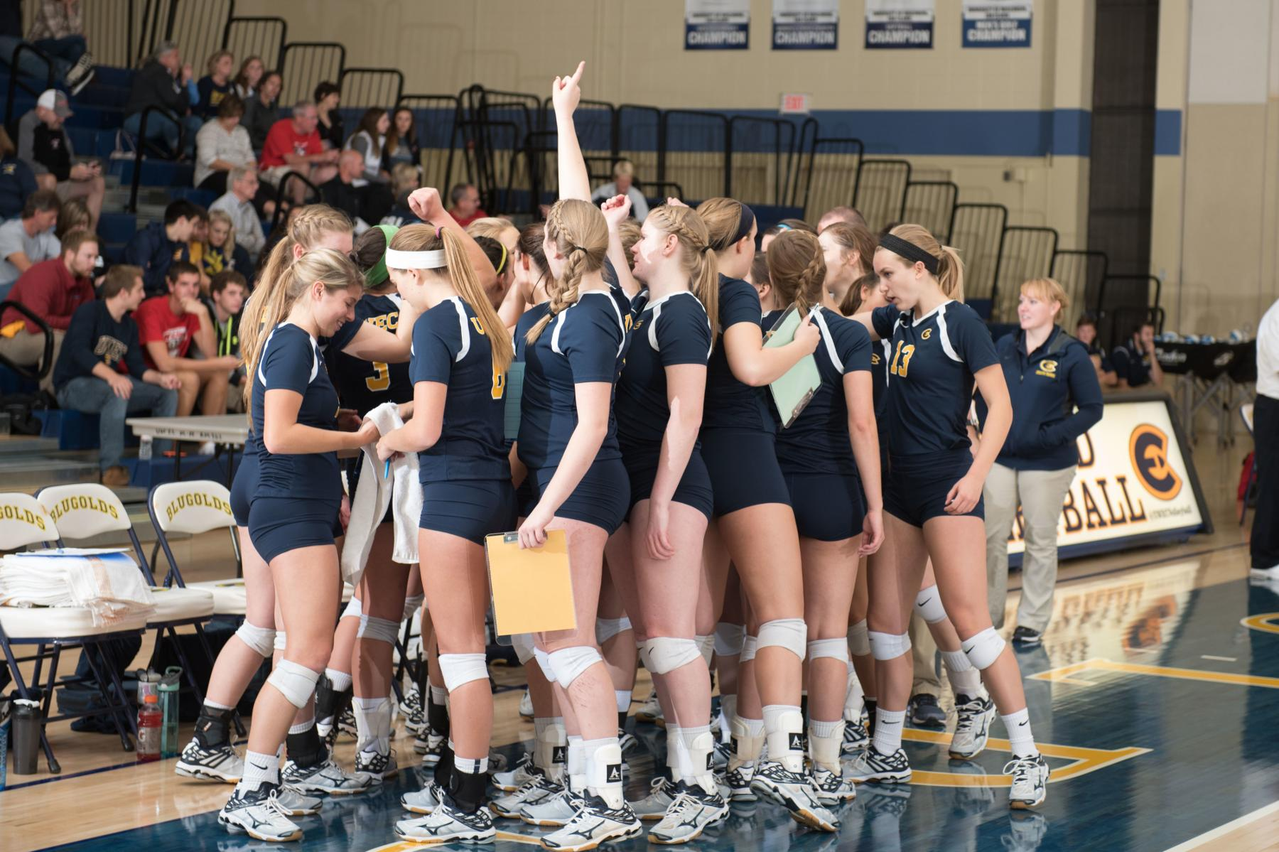 Blugolds Open Augsburg Invitational With Two Big Wins