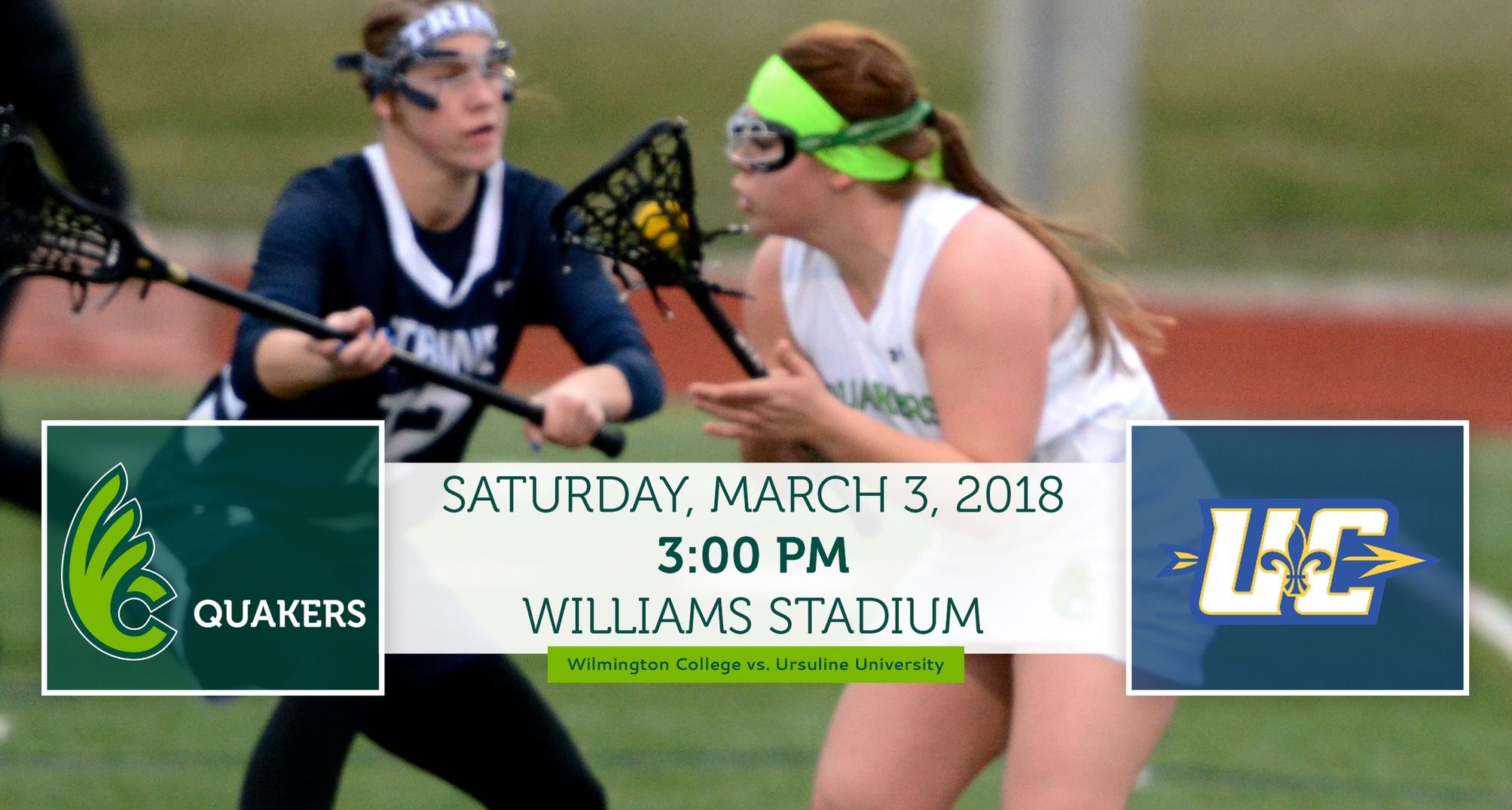 Women's Lacrosse Continues Home Stand Against Ursuline Saturday