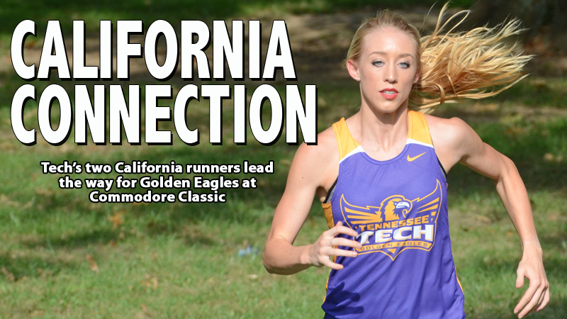 Women's cross country team paced by pair of California runners