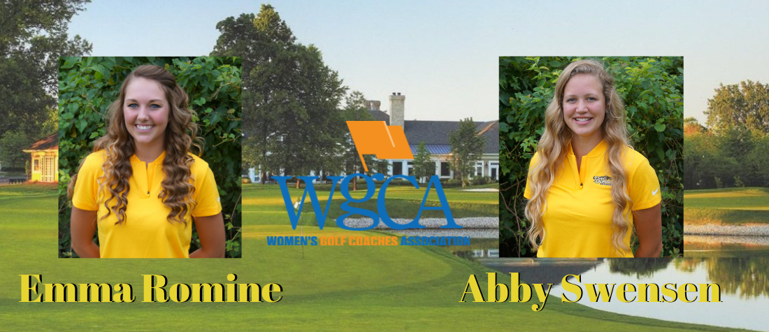 Romine, Swensen Named to WGCA All-American Scholar List