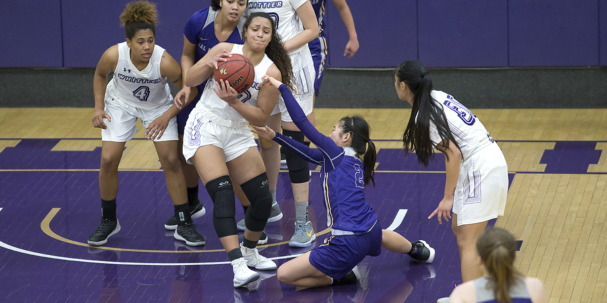 Whittier dethrones Regals 76-66