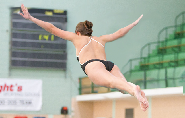 Husson Swimmers & Diver Prepare for GNAC Championships