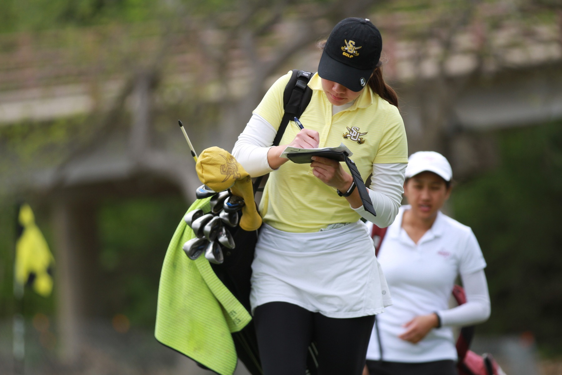 Women's Golf Finishes Round One in First at SCAC Championships