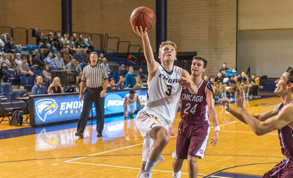 No. 6 Emory Men's Basketball Hosts Berry In NCAA D-III Tourney Opener