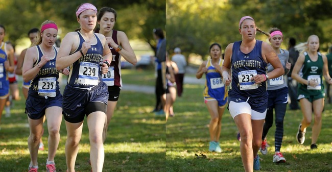 Murphy, Ethier Named As 2017 Massachusetts Maritime Women's Cross Country Co-Captains
