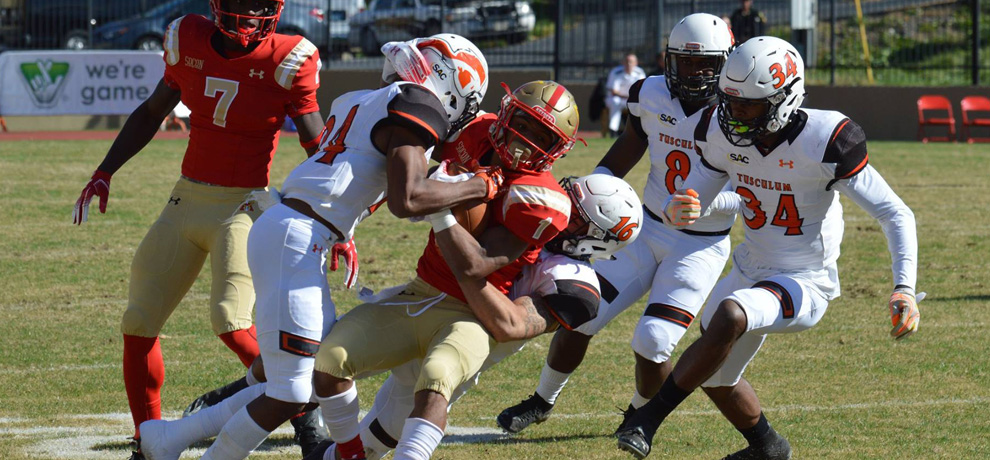 Pioneers battle VMI, but Keydets prevail 20-11
