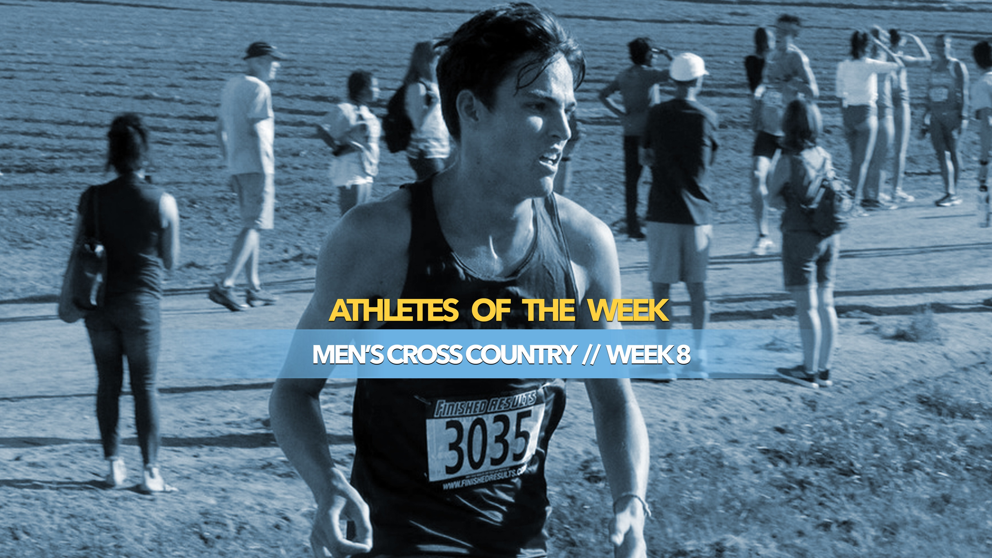 Men's Cross Country Athlete of the Week: October 21, 2019