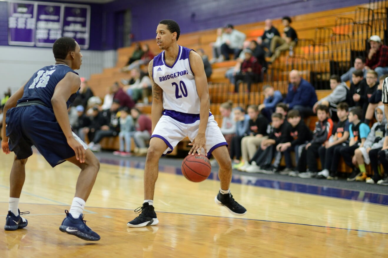 Bridgeport Men's Hoops Rolls Past NYIT, 103-84