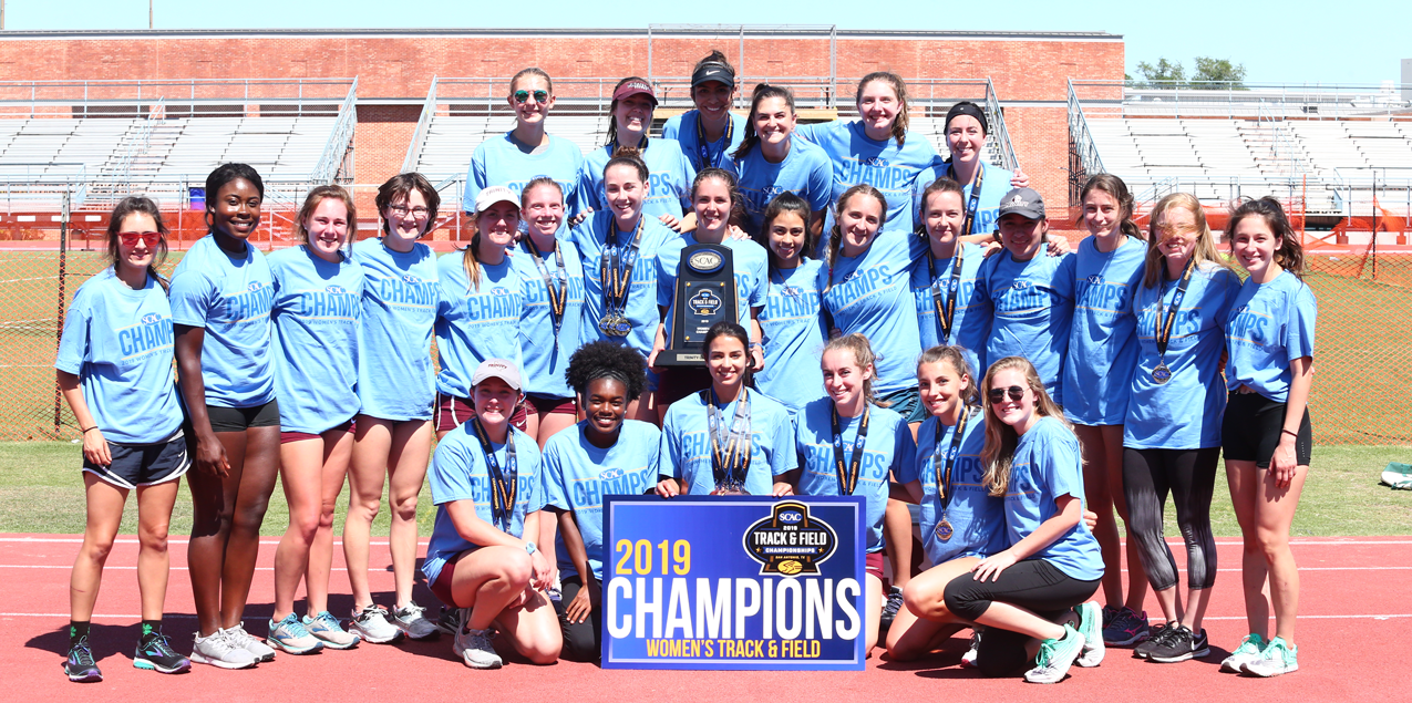 Trinity Women Win Fifth Straight SCAC Track & Field Title