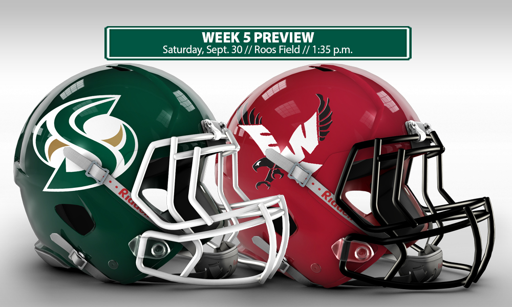 FOOTBALL TRAVELS TO No. 9 EASTERN WASHINGTON ON SATURDAY